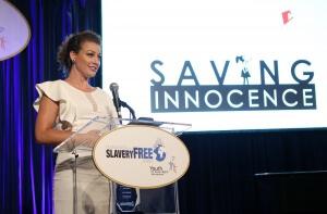 Kim Biddle of Saving Innocence