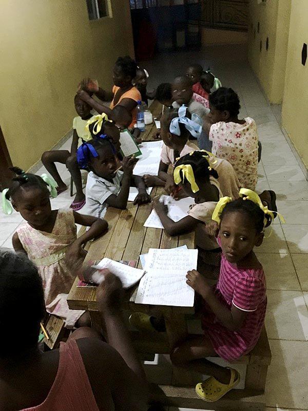 Haitian Orphange Visit